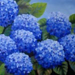 Nel Everyday Painting Large Hydrangea Sold