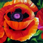 Nel Everyday Painting Red Poppies Sold