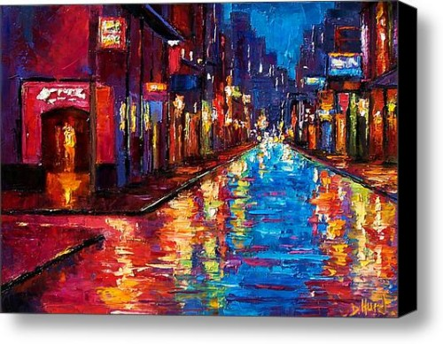 New Orleans Magic Stretched Canvas Print Art Debra Hurd