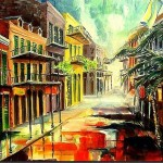 New Orleans Summer Rain Diane Millsap From