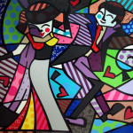 Night Out Romero Britto Wikipaintings