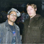 Norman Reedus After Painting The Lot