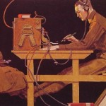 Norman Rockwell The Army Trades Painting Best Paintings For Sale