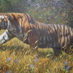 North Korean Tiger Painting The Earliest Know Paintings Were