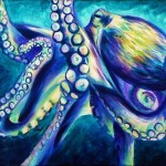 Octopus Painting Art Life