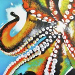 Octopus Painting Colleen Auxier Fine Art Prints And