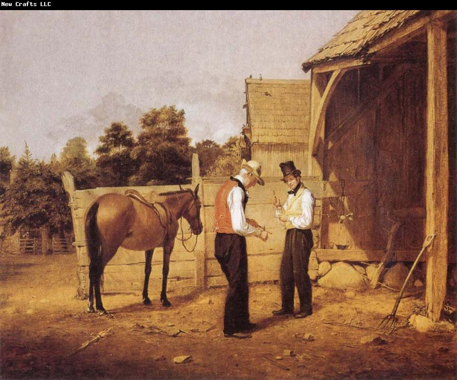Oil Canvas Cmnew York The New Historical Society