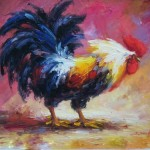 Oil Painting Animal China Abstract