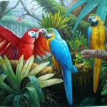 Oil Painting Animal Wholesale Paintings Ect