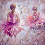 Oil Painting Ballet