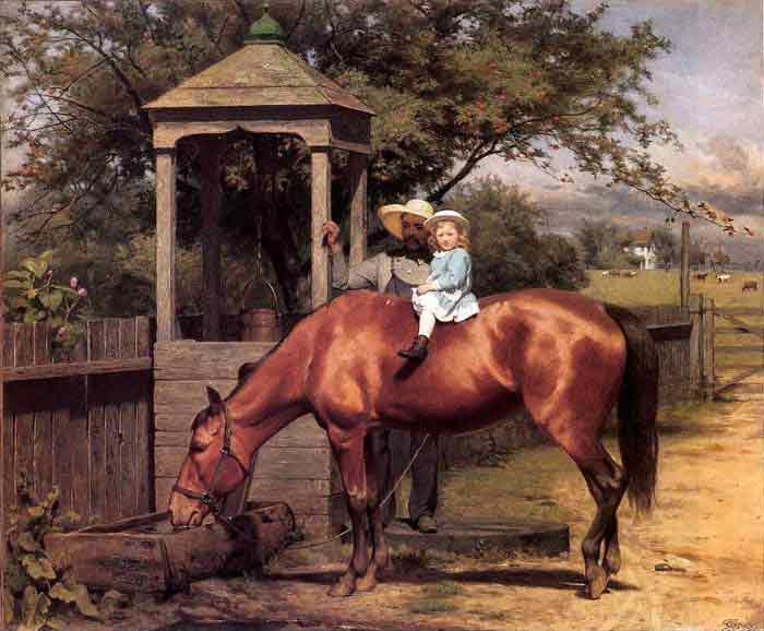 Oil Painting For Sale Equestrian Portrait Genuine Hand Painted Other
