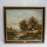 Oil Painting From Mensing For Sale Antiques Classifieds