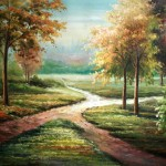 Oil Painting Real Handmade Landscape Write Review