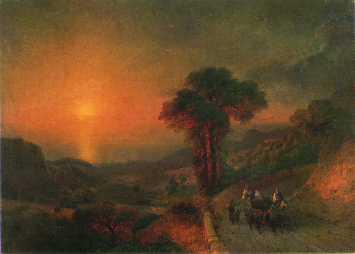 Oil Painting Reproduction Aivazovsky Ivan Constantinovich