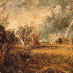 Oil Painting Reproduction Constable Cottage Rainbow Mill