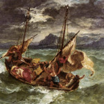 Oil Painting Reproduction Delacroix Christ The Lake