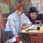 Oil Painting Reproduction Toulouse Lautrec The Cafe Mie