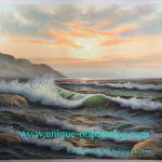 Oil Painting Seascape Paintings Reproduction