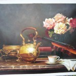 Oil Painting Still Life China Classical