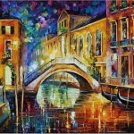 Oil Paintings Art Venice Painting