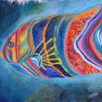 Oil Paintings Buy Original Impressionism Fish Bolokhova