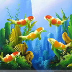 Oil Paintings Fish China Animals