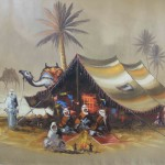 Oil Paintings Gallery Art For Sale Beddouins Camp