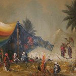Oil Paintings Gallery Art For Sale Beddouins Camping
