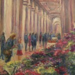 Oil Paintings Gallery Art For Sale Piazza Repubblica Florence