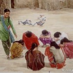Old Indian Games Painting India Pictures Funny Pics