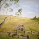 Old Shed Oil Painting Gallery