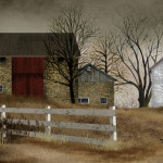 Old Stone Barn Framed Print Artist Billy Jacobs