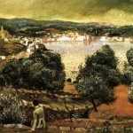 Olive Trees Landscape Cadaqu Private Collection