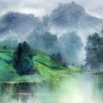 One Chinese Artist Zhao Hongfu Timeless Watercolor Paintings