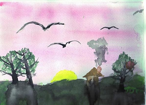 One Favorite Types Art Watercolor Painting Watercolors Are