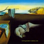 One Salvador Dali Best Known Surrealist Paintings Shows Clocks