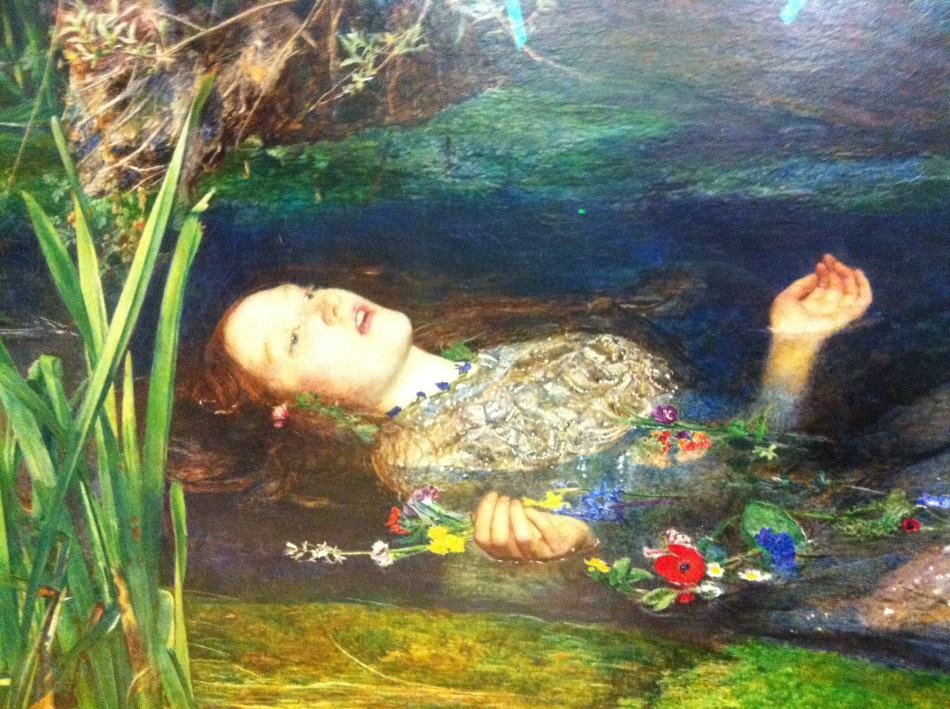 Ophelia David Hockney And Critiquing Paintings