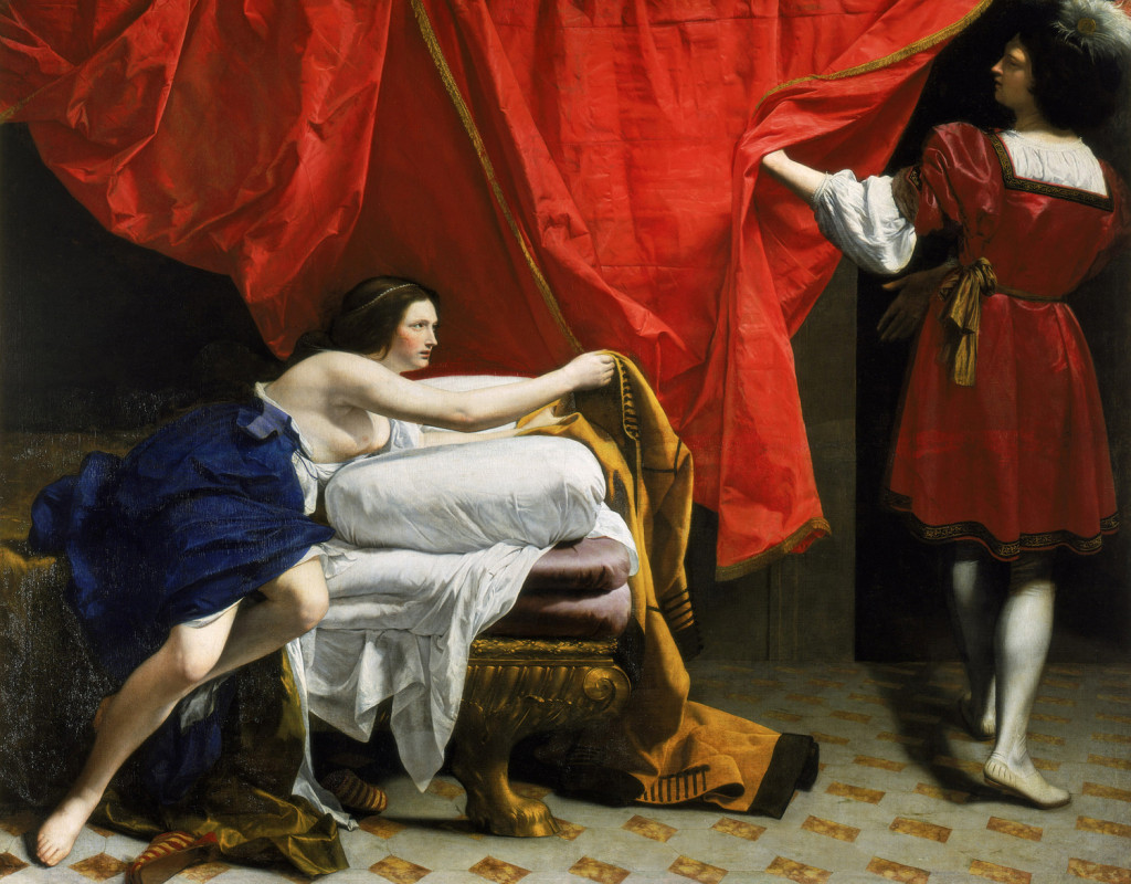 Orazio Gentileschi Italian Joseph And Potiphar Wife