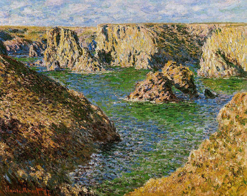 Order Monet Oil Painting Reproduction Port Donnant Belle Ile