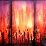 Original Abstract Contemporary Art Painting Theo Dapore