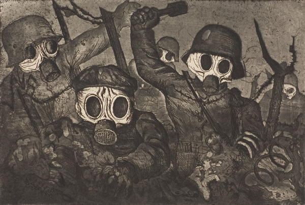 Otto Dix War Sketches Waggish