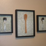 Our Kitchen Now Came This Easy Inexpensive Diy Wall Art