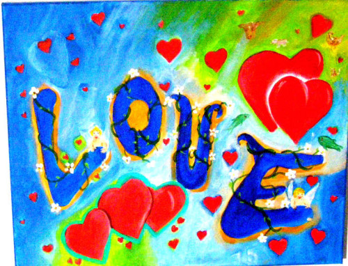 Our Love Darleene Macbay Submit Entry Painting Project