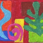 Overlapping Matisse Shapes Art Projects For
