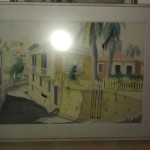 Own Original Jack Lord Painting Called Summer Palace