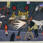 Own Wonderful Jacob Lawrence Painting That Hangs Proudly