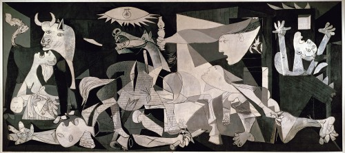 Pablo Picasso Guernica Oil Robert Hughes