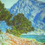 Paint And Copied One Monet Famous Impressionist Painting