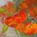 Painter Poppies Oil Painting Yes More Berries And Blooms