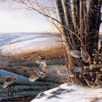 Painter Terry Redlin Paintings Works Avon